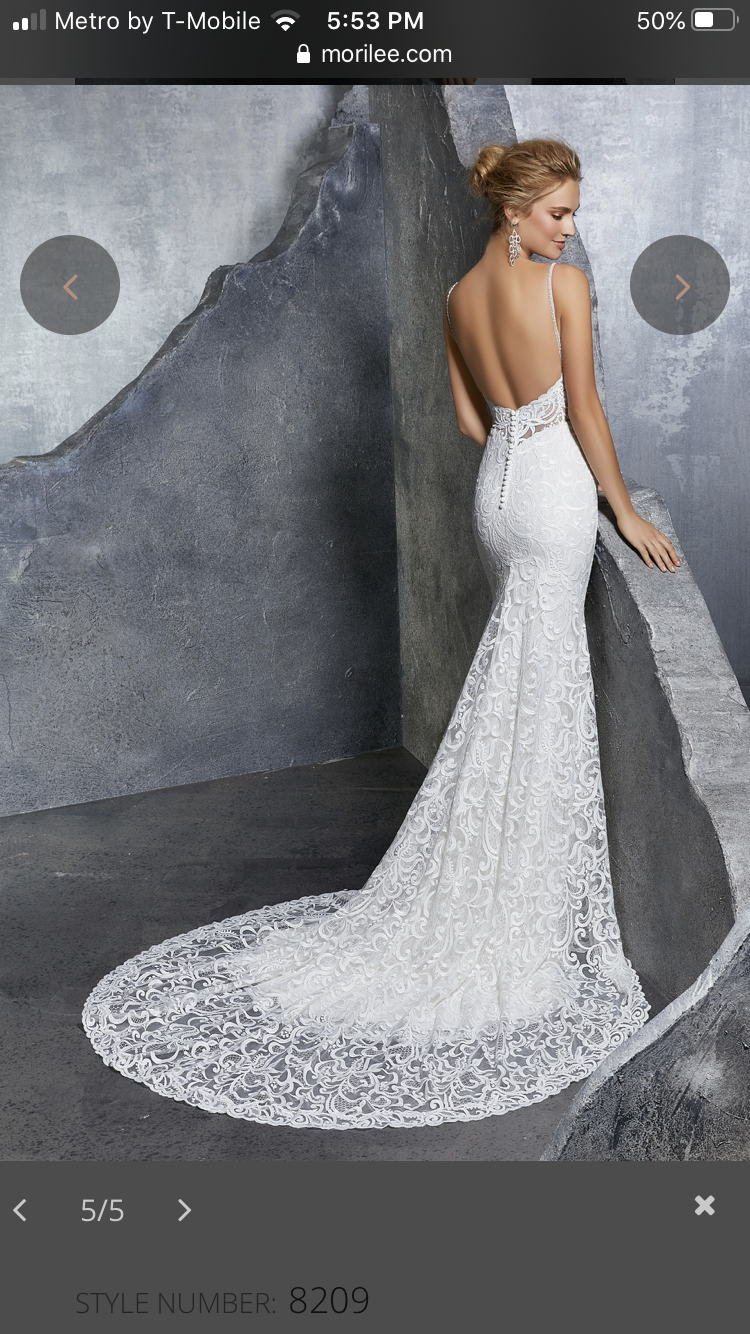 Mori lee - 8209 size 14 - $850 - (39% OFF)