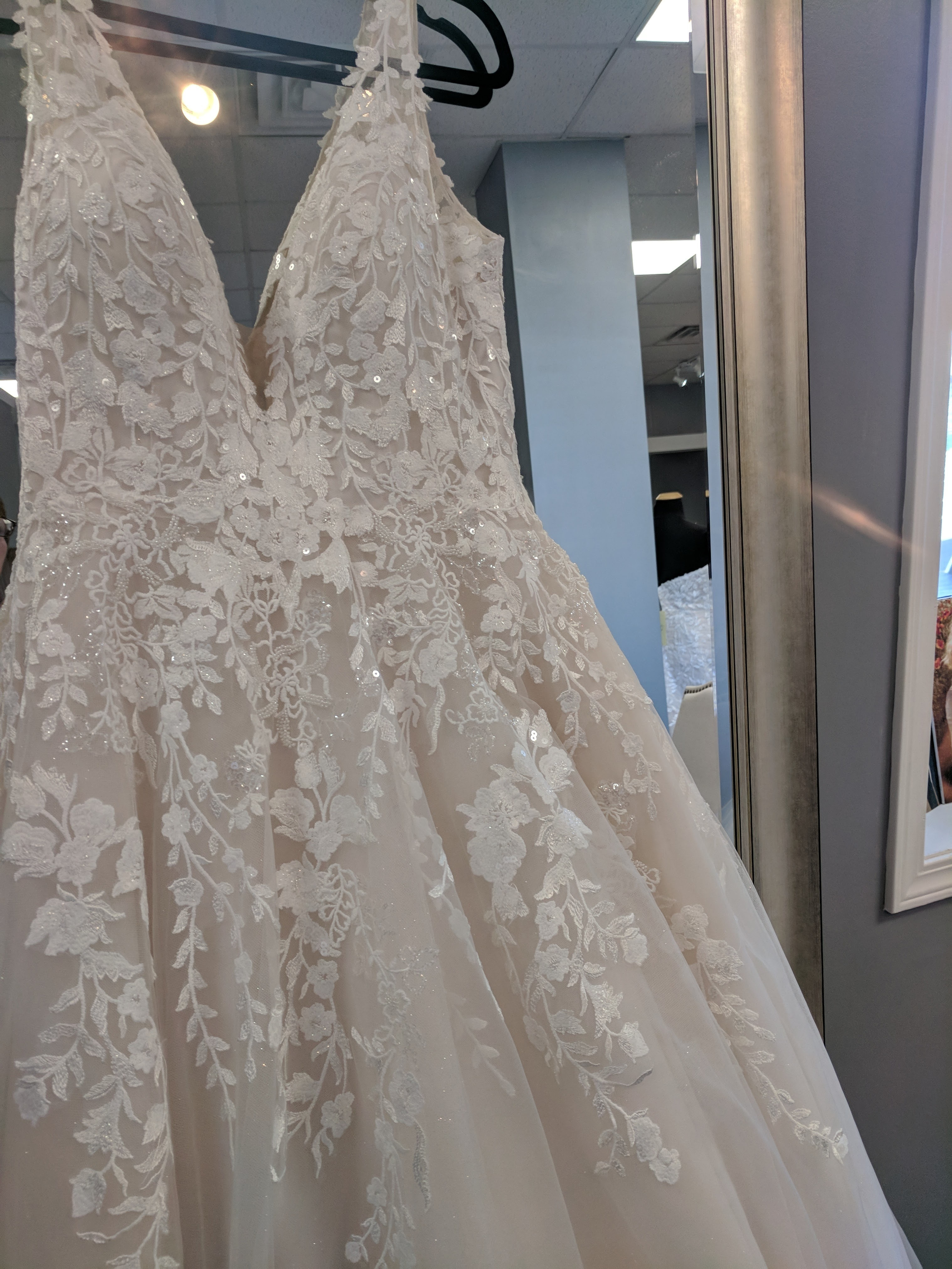 Allure bridals - 3265 size 12 - $799 - (33% OFF)