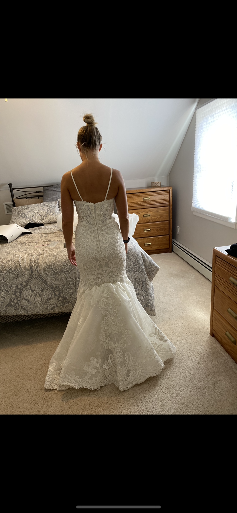 Allure bridals - 9666 size 6 - $2300 - (11% OFF)