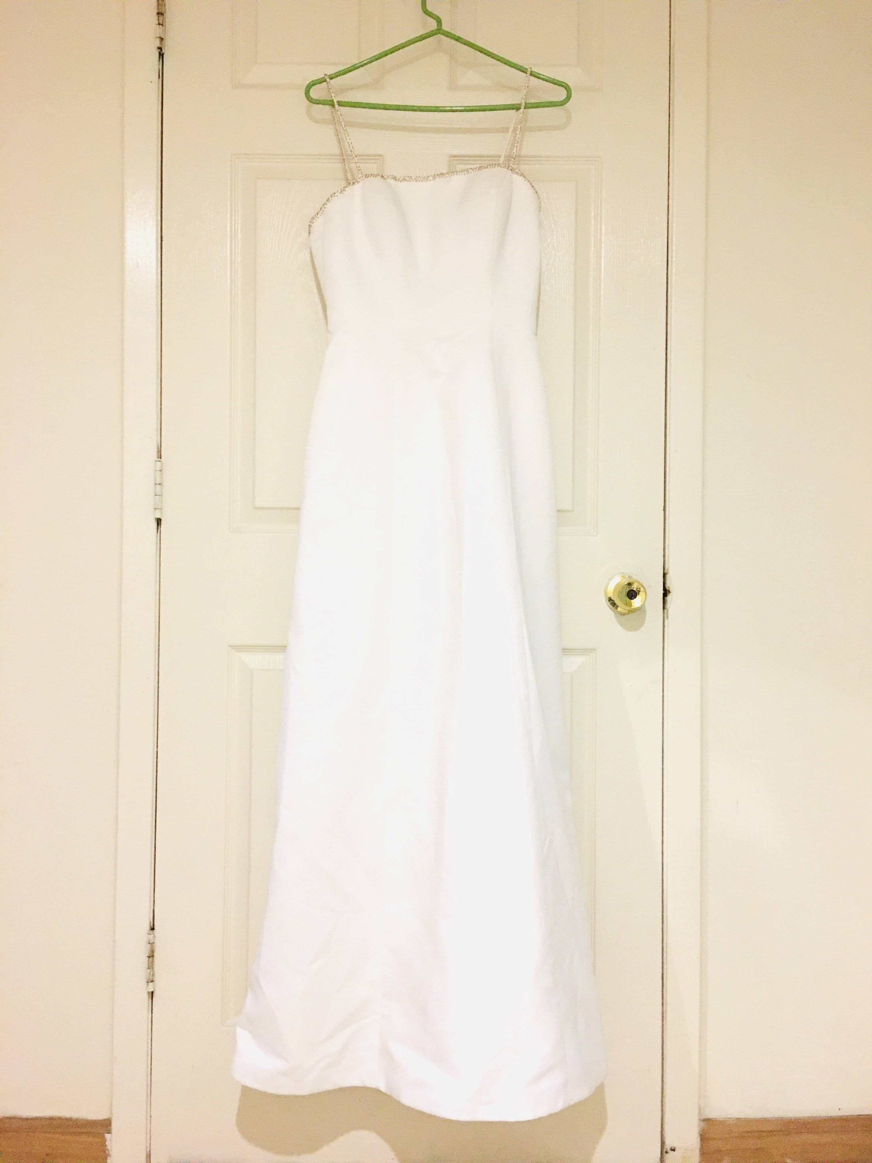 David's bridal - CT003 size 8 - $250 - (75% OFF)