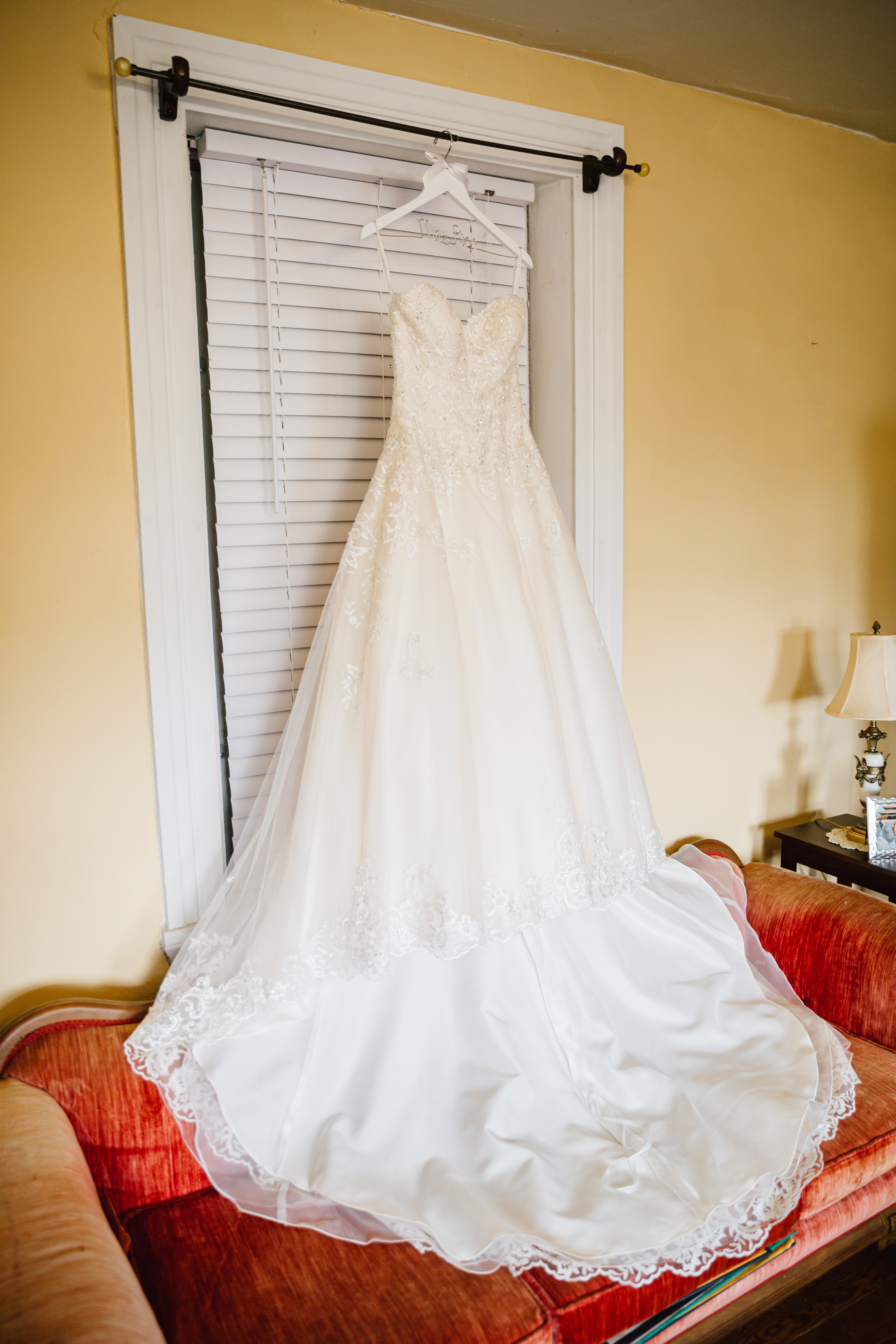 Jewel by David's Bridal - Strapless beaded lace ball gown wedding dress size 4 - $600 - (40% OFF)