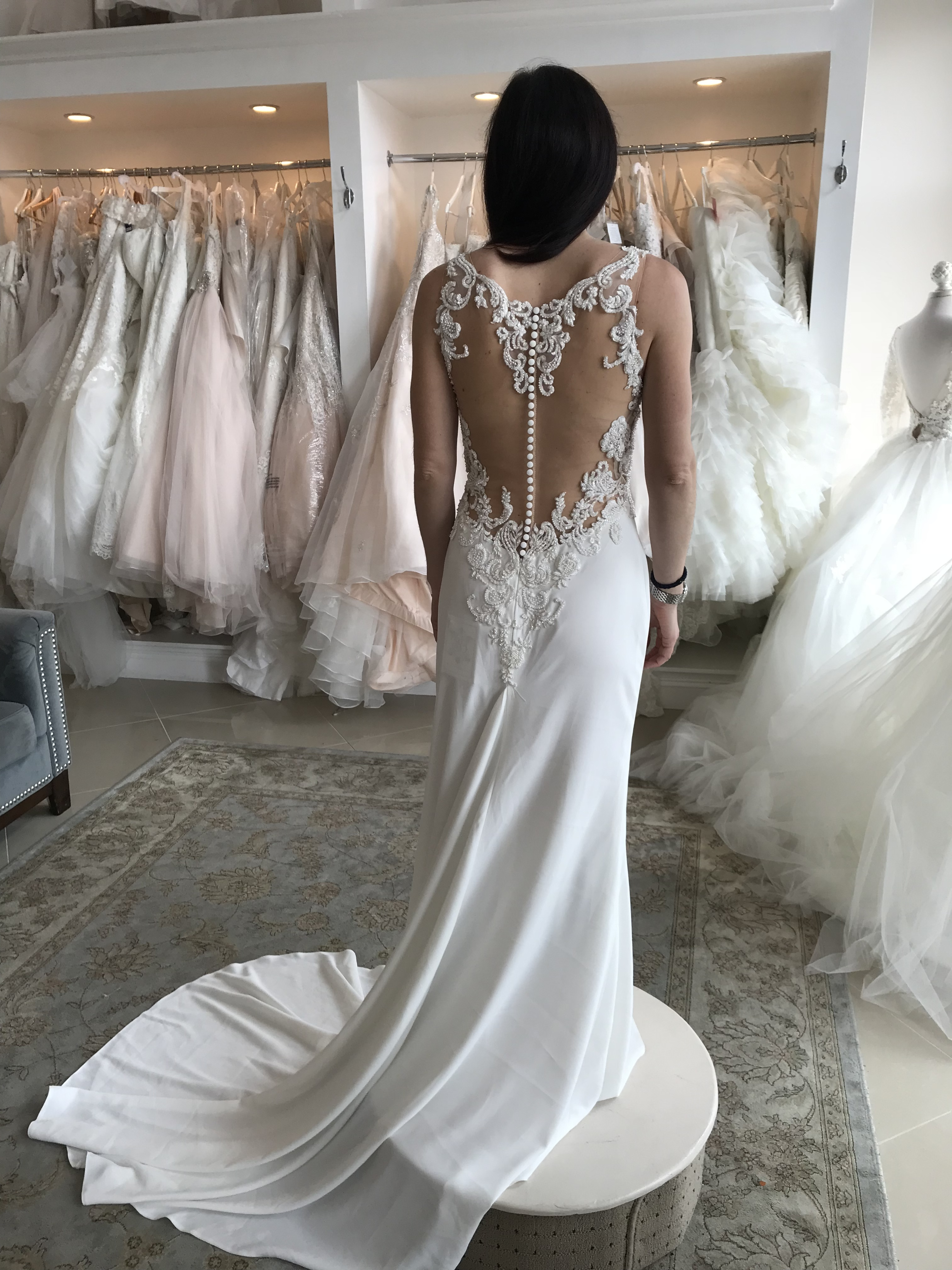Demetrios - 796- never worn, never altered size 6 - $600 - (52% OFF)