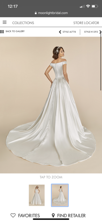 Moonlight Bridal - T886