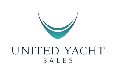 United Yacht Sales, LLC logo 123 2950 Side