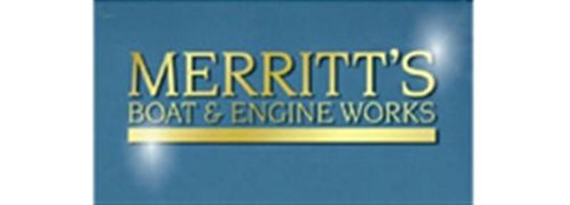 Merritt's Boat & Engine Works logo 82 23428
