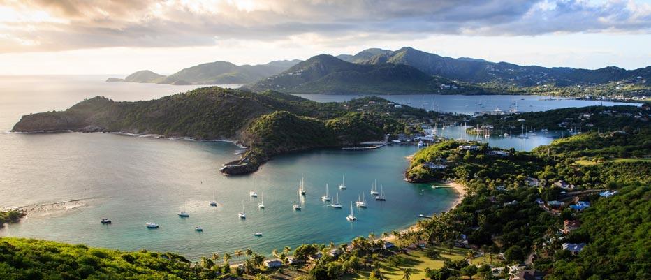 Luxury Yacht Charter Antigua Harbor