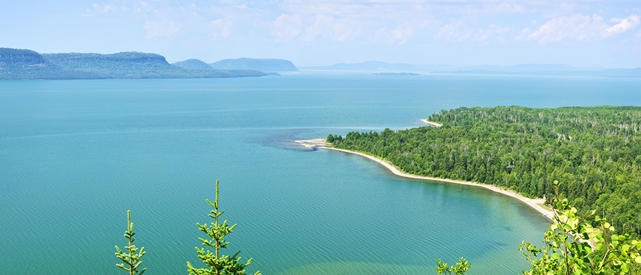 Northeast America Great Lakes Charter Lake Superior