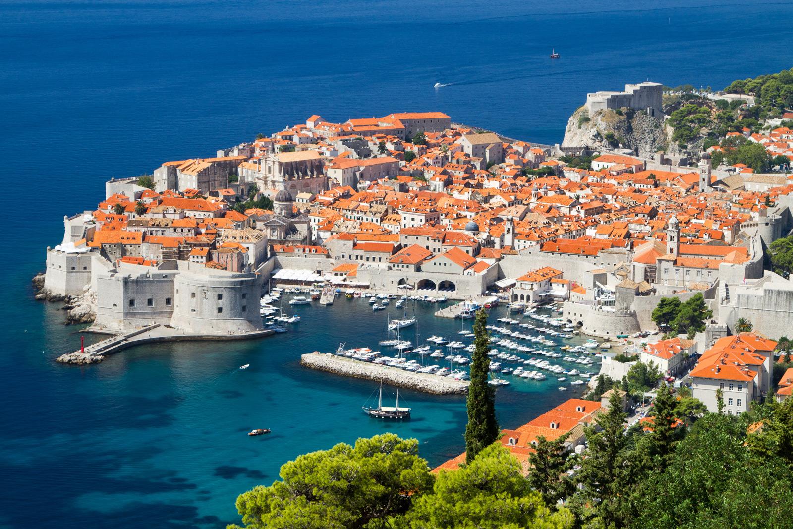 Adriatic Sea Charter Croatia Dubrovnik View