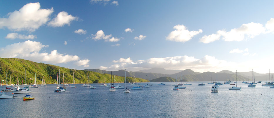 Luxury Yacht Charter Picton Town