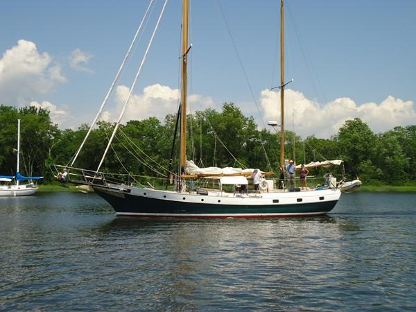 Port Side 1959 SPARKMAN & STEPHENS Original Irving Johnson YANKEE Cruising Ketch 1287592
