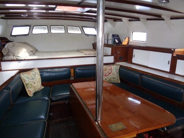 Aft Cabin 1959 SPARKMAN & STEPHENS Original Irving Johnson YANKEE Cruising Ketch 1287598