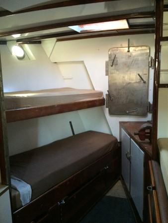 Fwd Cabin Berths 3 1959 SPARKMAN & STEPHENS Original Irving Johnson YANKEE Cruising Ketch 1391685