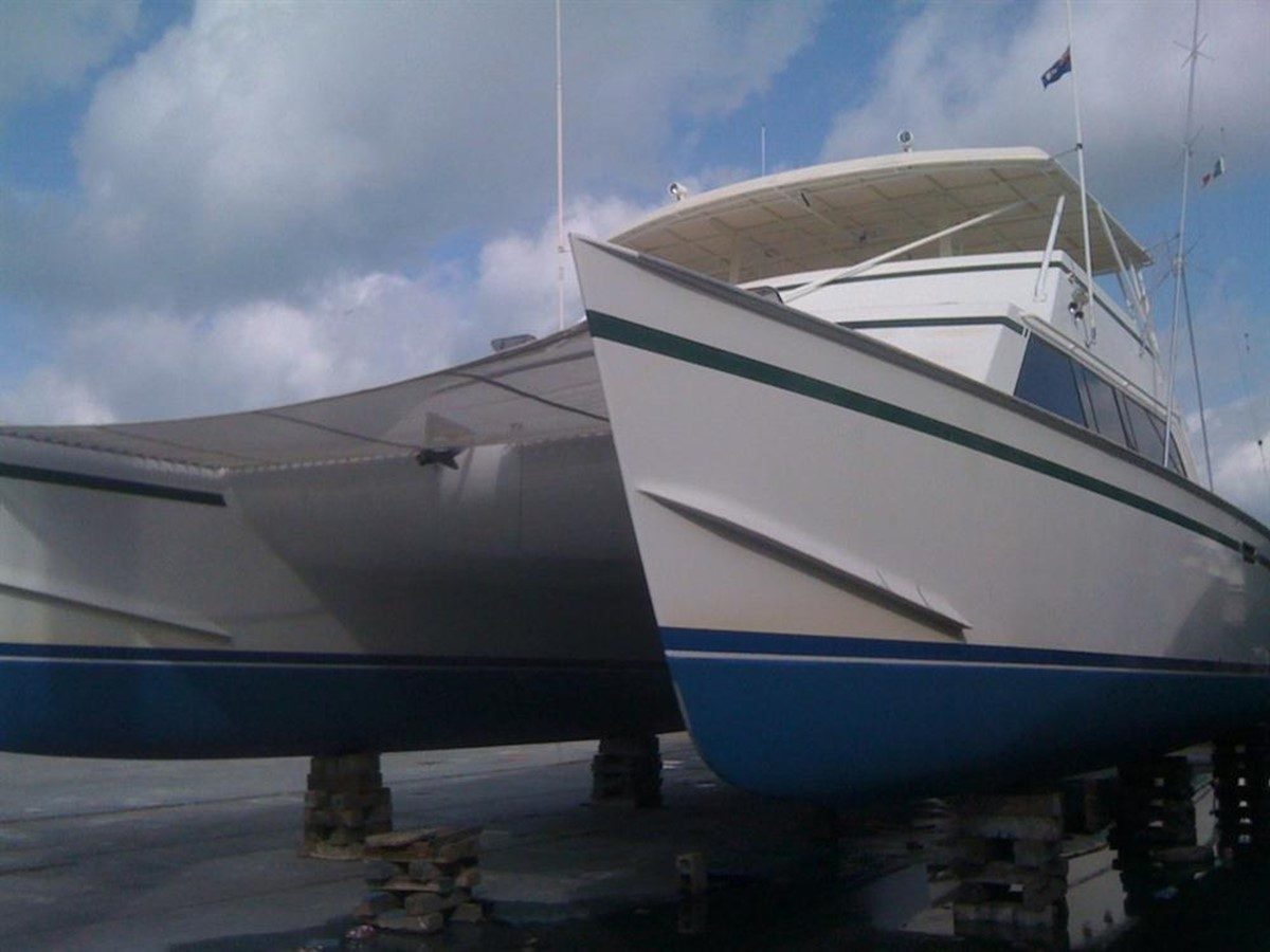 1998 CUSTOM Mick Jarrod PowerCat Sportfisher/Dive Boat Catamaran 156640