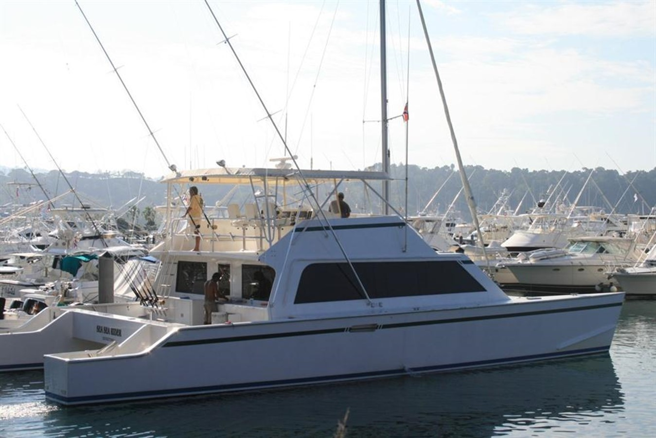 1998 CUSTOM Mick Jarrod PowerCat Sportfisher/Dive Boat Catamaran 156643
