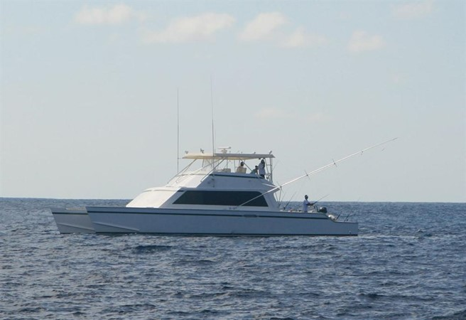1998 CUSTOM Mick Jarrod PowerCat Sportfisher/Dive Boat Catamaran 156641