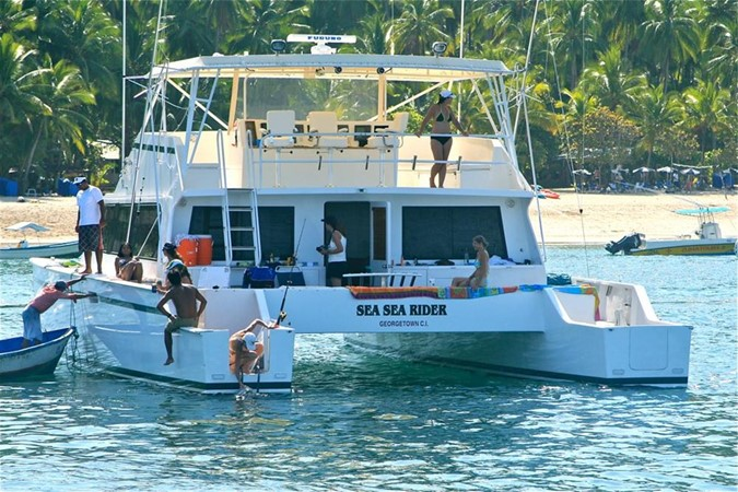 1998 CUSTOM Mick Jarrod PowerCat Sportfisher/Dive Boat Catamaran 156646