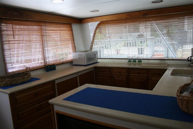 GALLEY 1998 CUSTOM Mick Jarrod PowerCat Sportfisher/Dive Boat Catamaran 156658