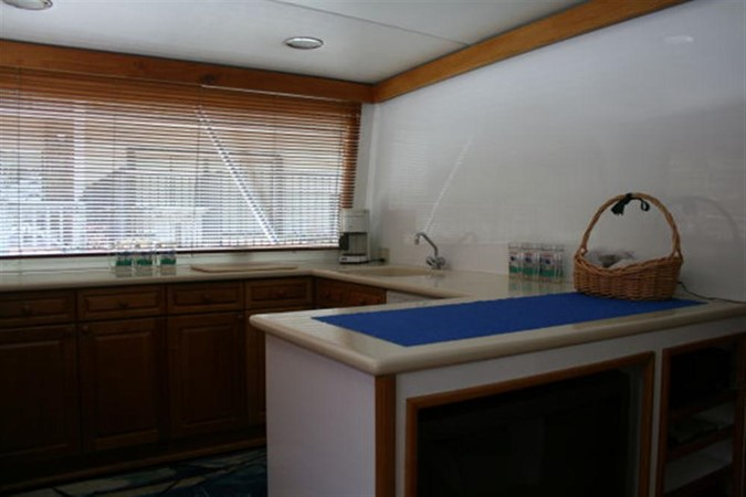 GALLEY 1998 CUSTOM Mick Jarrod PowerCat Sportfisher/Dive Boat Catamaran 156659