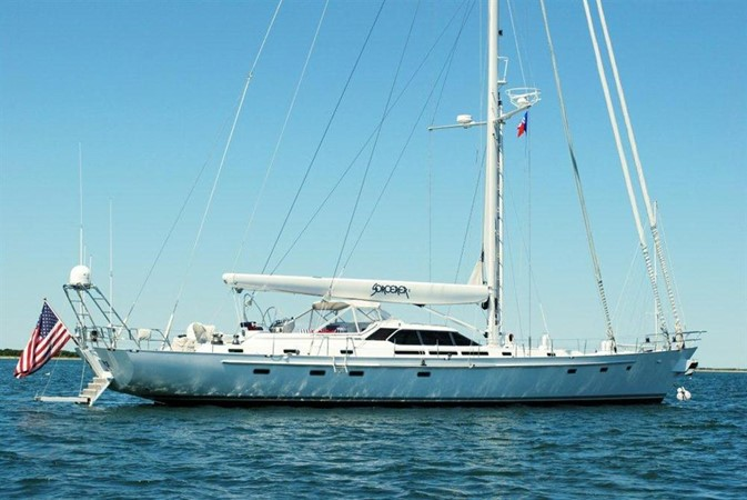 At Anchor 1998 COOKSON Cutter Performance Sailboat 245568