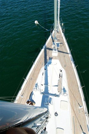View Forward 1998 COOKSON Cutter Performance Sailboat 245569