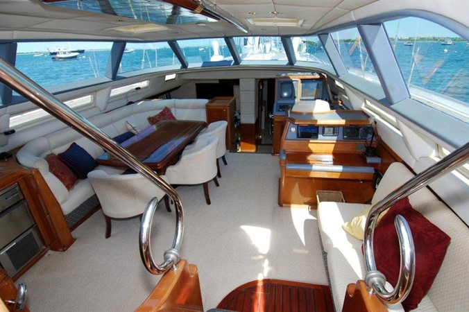 Upper Salon 1998 COOKSON Cutter Performance Sailboat 245575