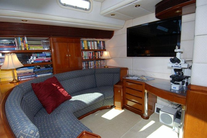 Lower Salon Port 1998 COOKSON Cutter Performance Sailboat 245576