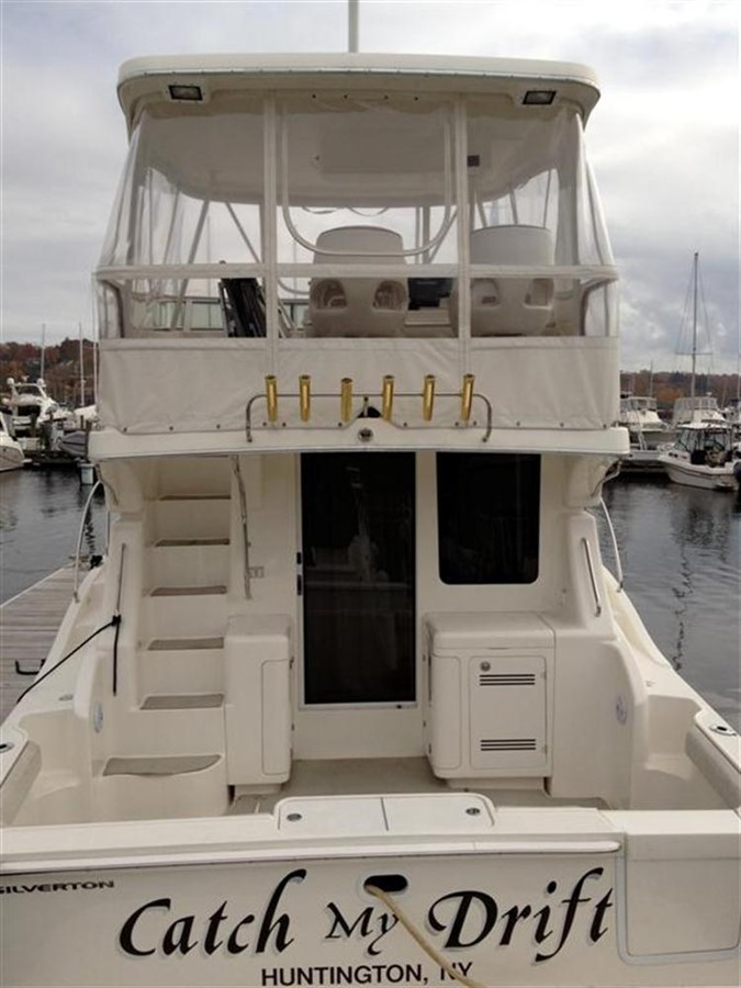 Aft Exterior 2005 SILVERTON Convertible  **LOW HOURS** Motor Yacht 298507
