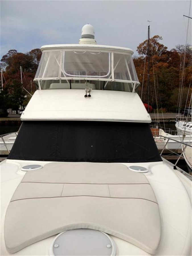 Bow Exterior 2005 SILVERTON Convertible  **LOW HOURS** Motor Yacht 298508
