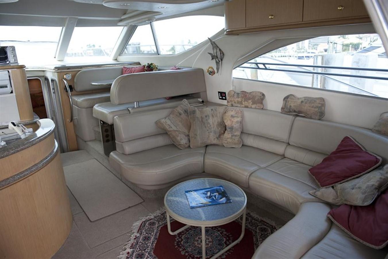 Salon from Forward 1998 MAXUM 4600 SCB Motor Yacht 302754