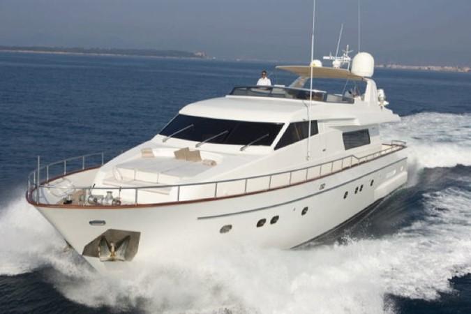 2003 San Lorenzo flybridge Motor Yacht 1208