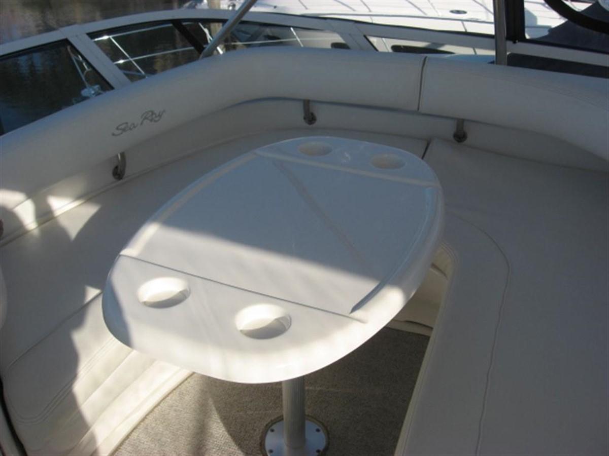 Flybridge Seating 2001 SEA RAY 480 Sedan Bridge Motor Yacht 349637
