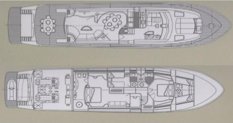 Leopard 26 - Layout 2001 ARNO Leopard 26 Commercial Vessel 904101