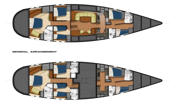 2012 CUSTOM performance Cruising Yacht Performance Sailboat 412429