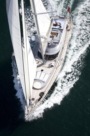 Sylver K sky profile 2008 Noble Yachts 32SY Cruising Sailboat 416326