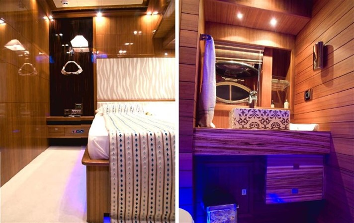 Guest double ensuite 2008 Noble Yachts 32SY Cruising Sailboat 416329