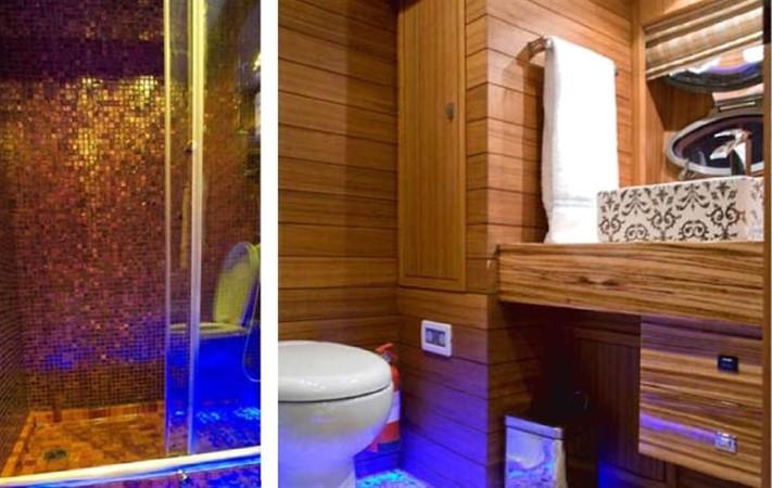 Master cabin ensuite bathroom 2008 Noble Yachts 32SY Cruising Sailboat 416334