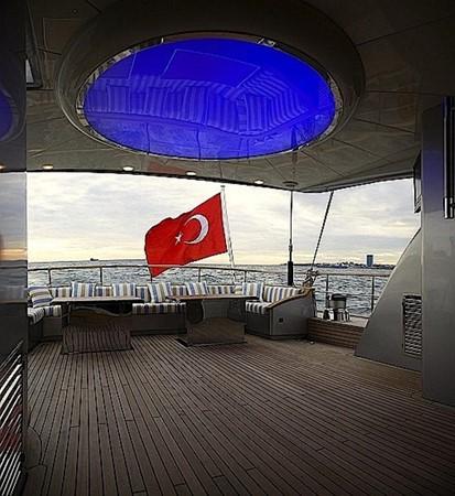 Sylver K aft deck light 2008 Noble Yachts 32SY Cruising Sailboat 428297