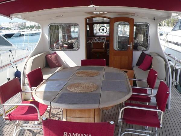 Aft Deck 1963 FEADSHIP Super Van Craft Motor Yacht 434364