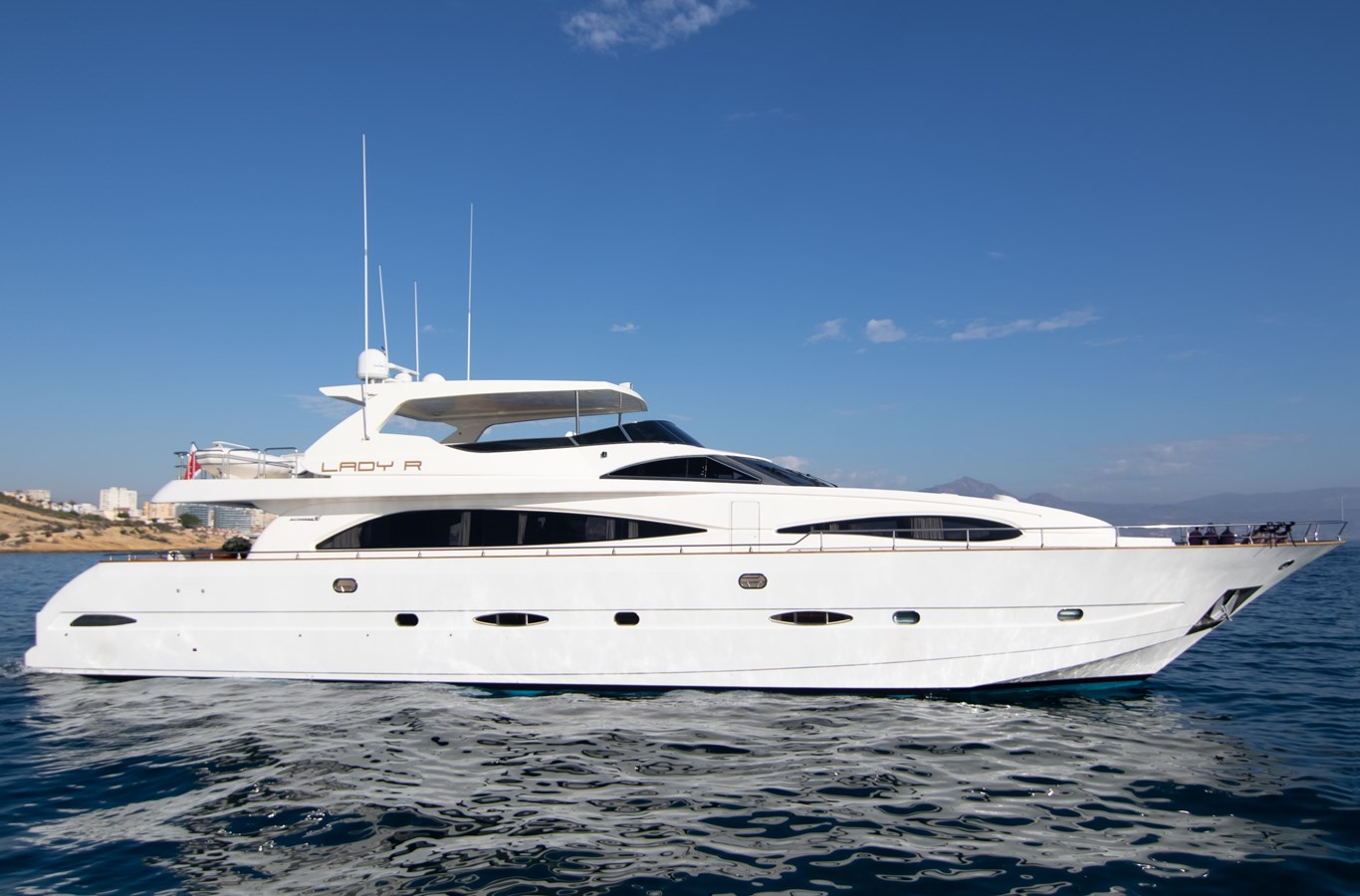 LADY R profile 2003 ASTONDOA 95 GLX Motor Yacht 2762540