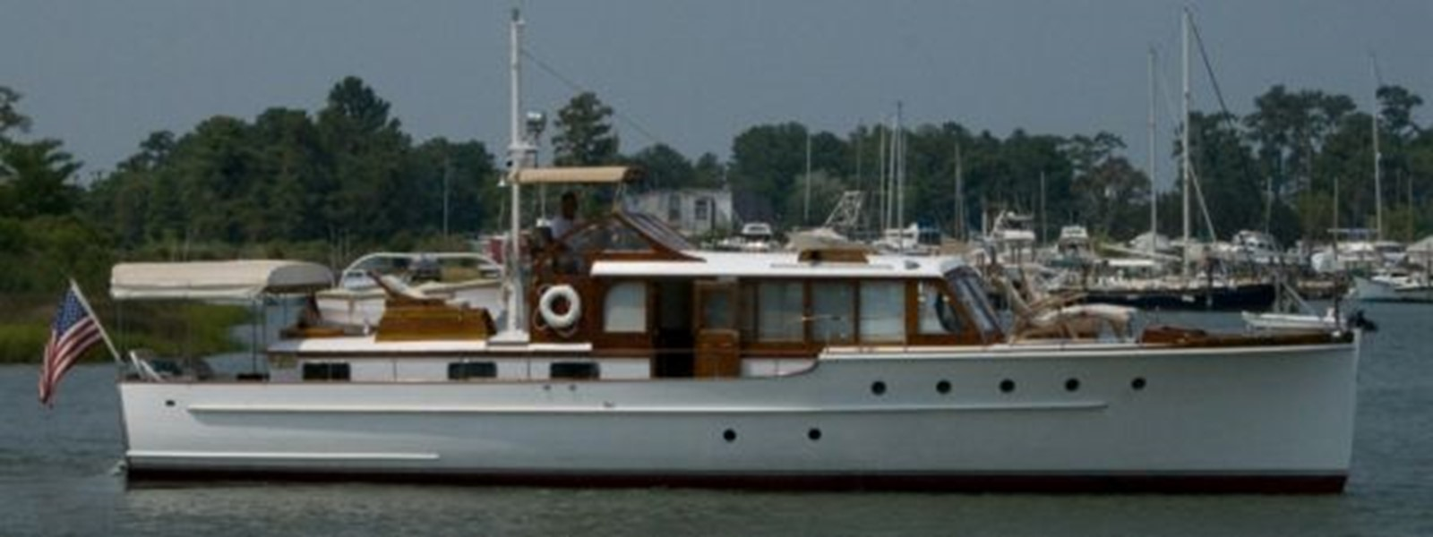53' Elco - Starboard Side - 53 ELCO MARINE For Sale
