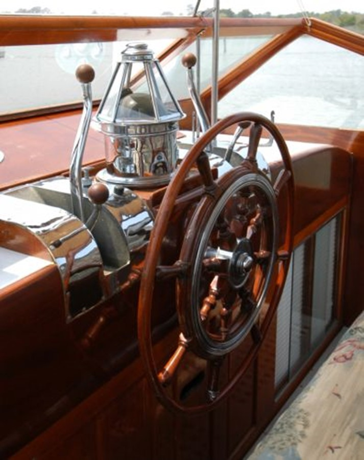 53' Elco - Steering Wheel - 53 ELCO MARINE For Sale