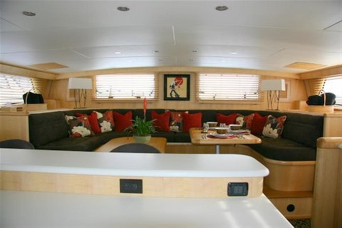 Main Deck Salon looking forward 2008 CATMAN CATS Power Cat with enclosed pilot house Catamaran 648867