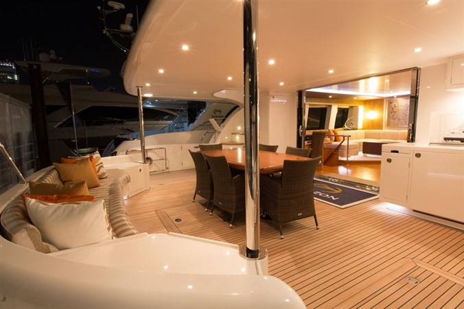 Aft Deck 2013 HORIZON HORIZON PC60 Catamaran 665155