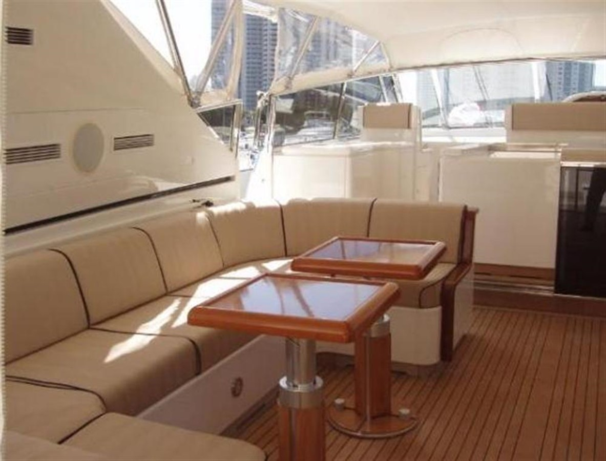 Aft Deck 2 2002 OVERMARINE GROUP MANGUSTA Cruiser 729815