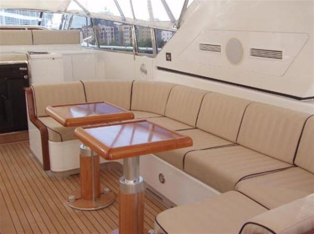 Aft Deck 3 2002 OVERMARINE GROUP MANGUSTA Cruiser 729816