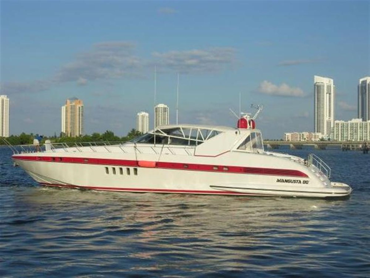 Running Shot 2002 OVERMARINE GROUP MANGUSTA Cruiser 729822