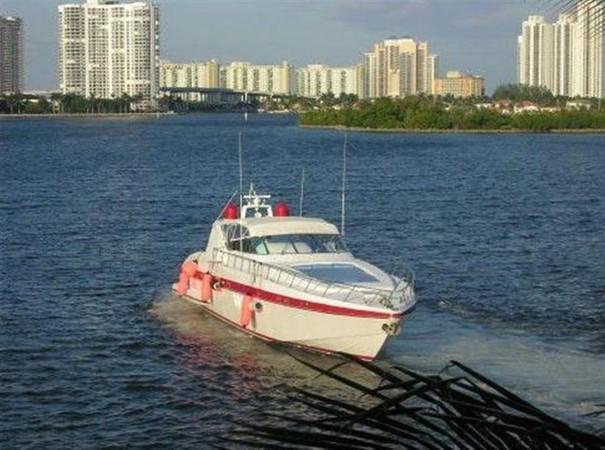 Running Shot 2 2002 OVERMARINE - MANGUSTA MANGUSTA Cruiser 729823