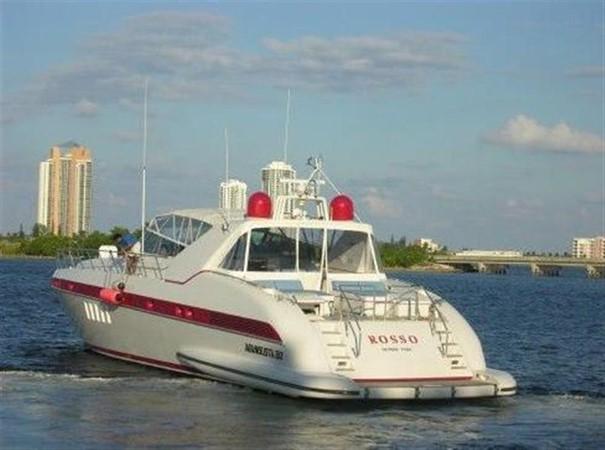 Stern 2002 OVERMARINE - MANGUSTA MANGUSTA Cruiser 729827