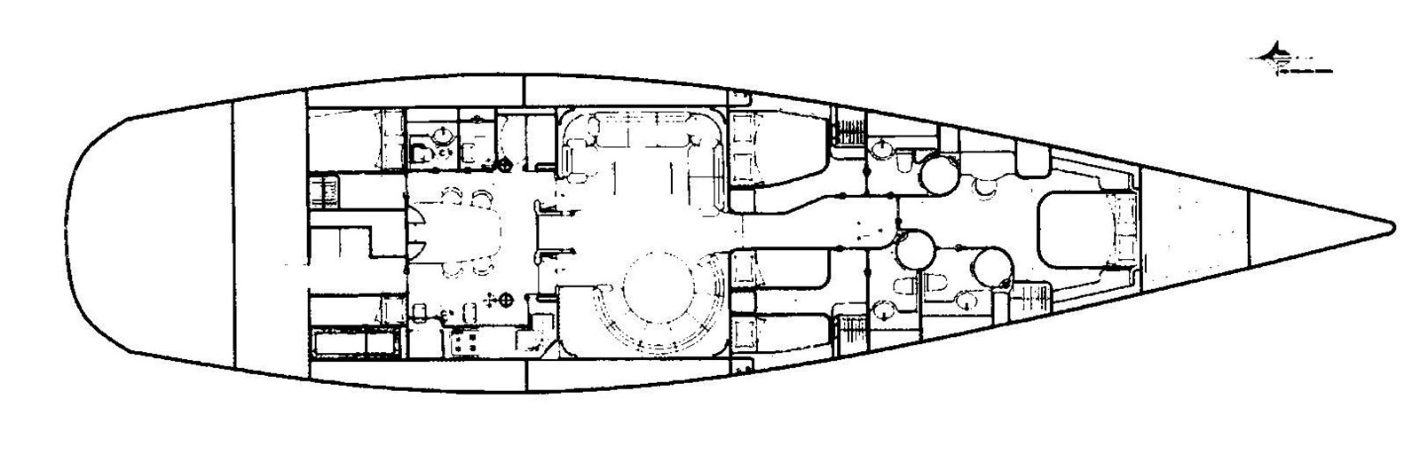 Plan 2000 GREEN MARINE, U.K. Super Maxi Fast Cruiser Cruising Sailboat 961739