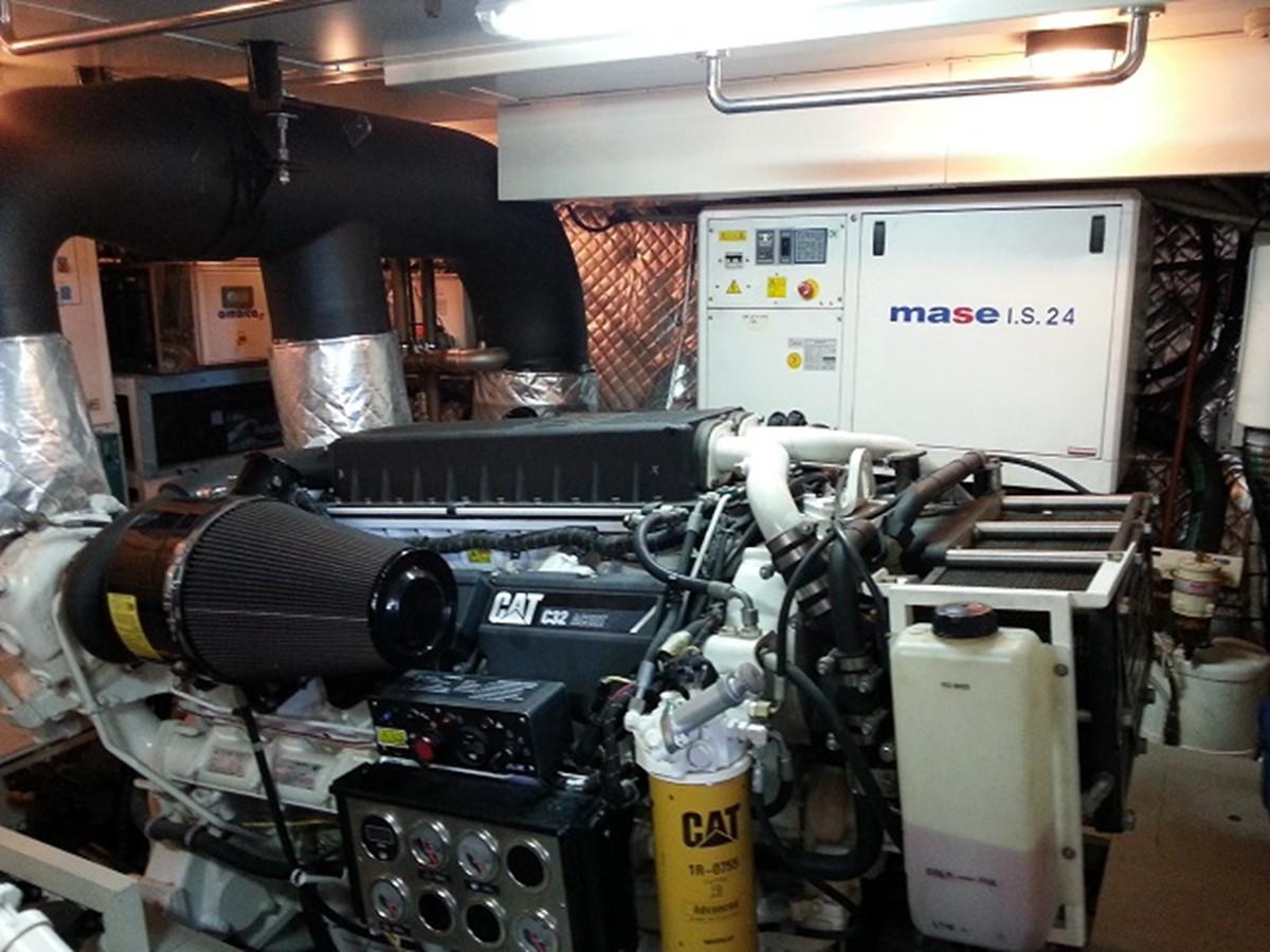 Aicon 85 Flybridge - Engine Room 2010 AICON YACHTS 2010 Aicon 85 Flybridge Motor Yacht 920335